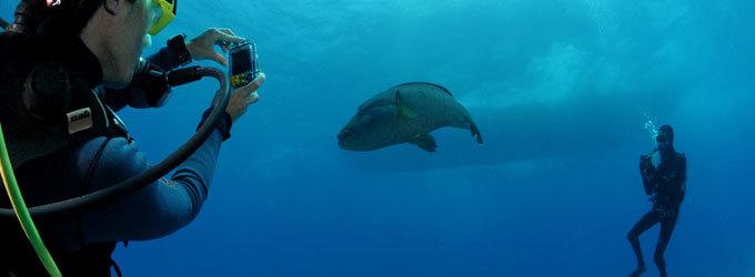 macchina fotografica subacquea per la vacanza